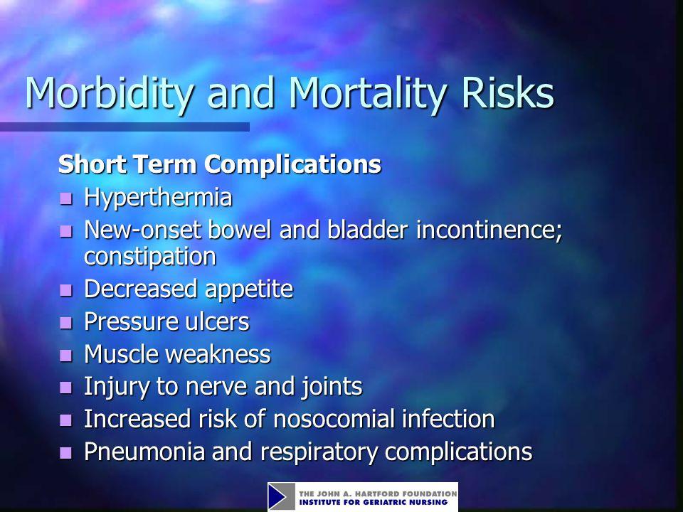 Morbidity and Mortality Risks