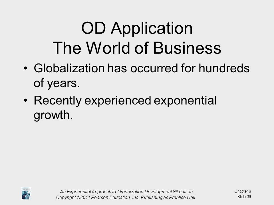 OD Application The World of Business