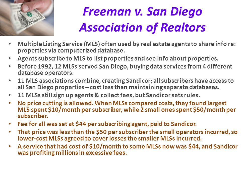 Freeman v. San Diego Association of Realtors
