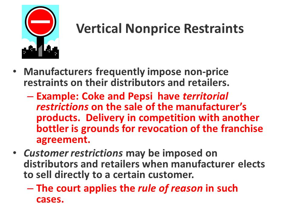 Vertical Nonprice Restraints