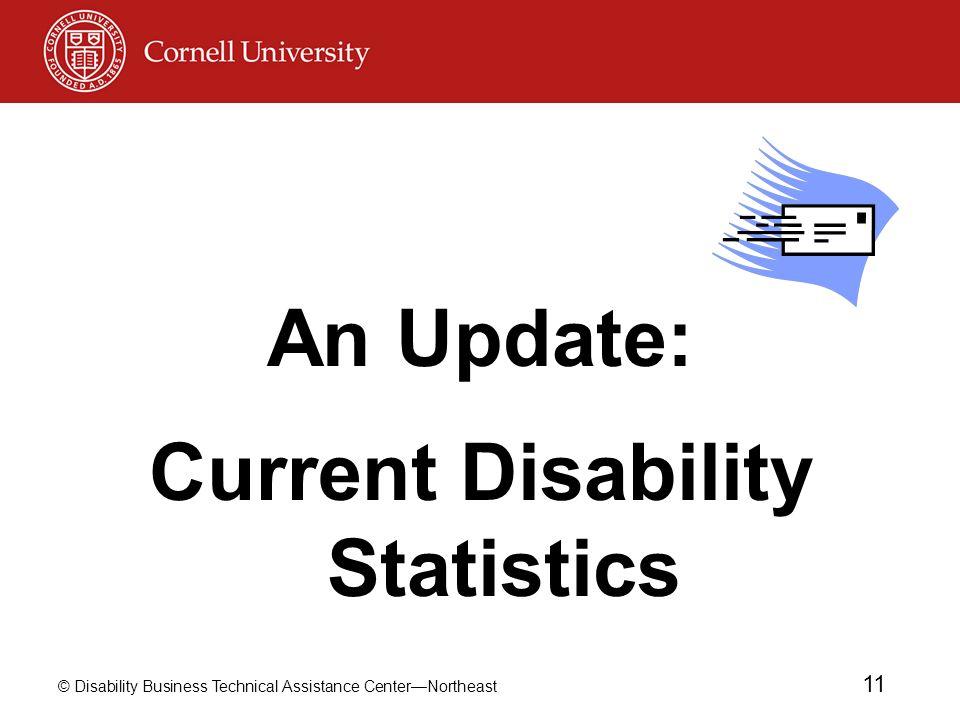 Current Disability Statistics