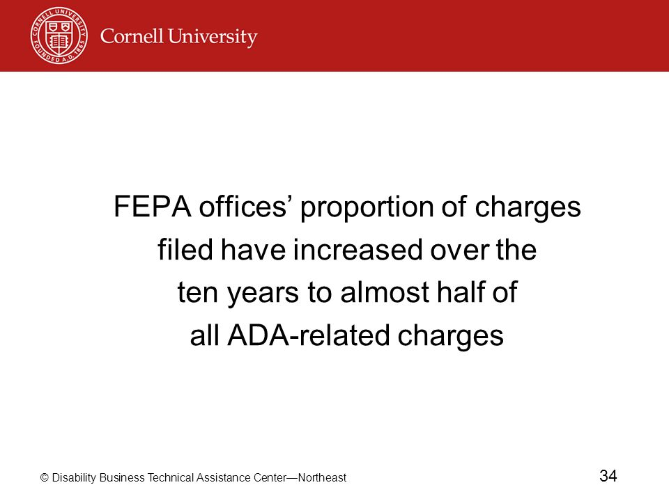 FEPA offices' proportion of charges filed have increased over the