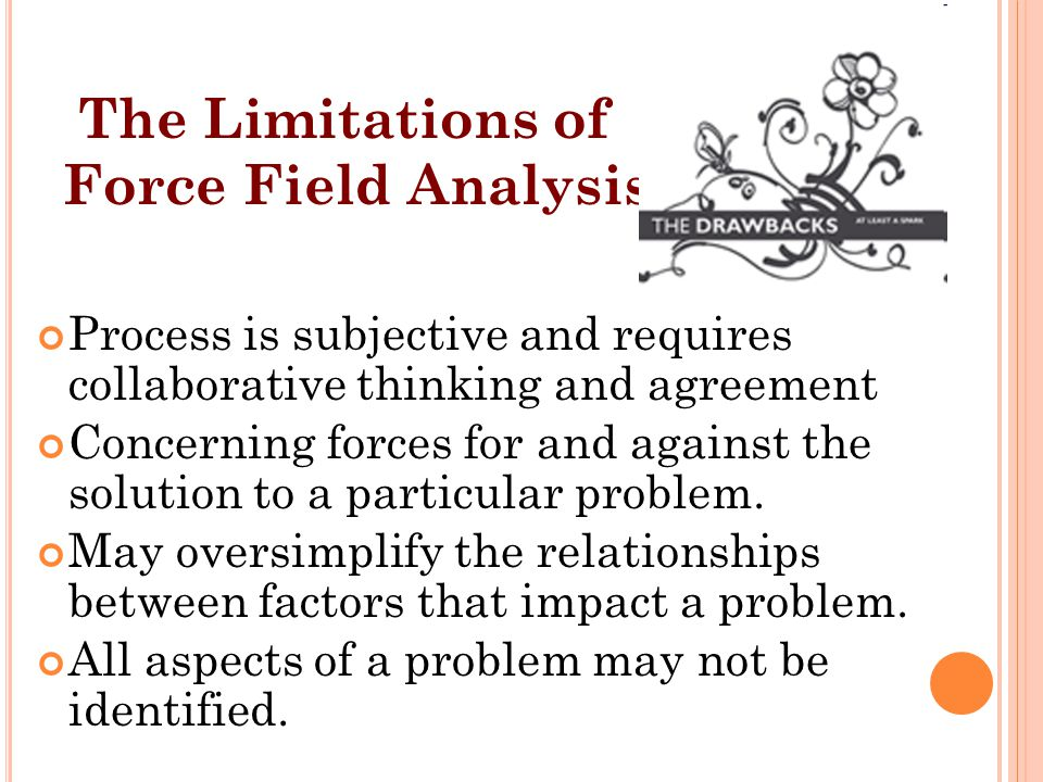 The Limitations of Force Field Analysis