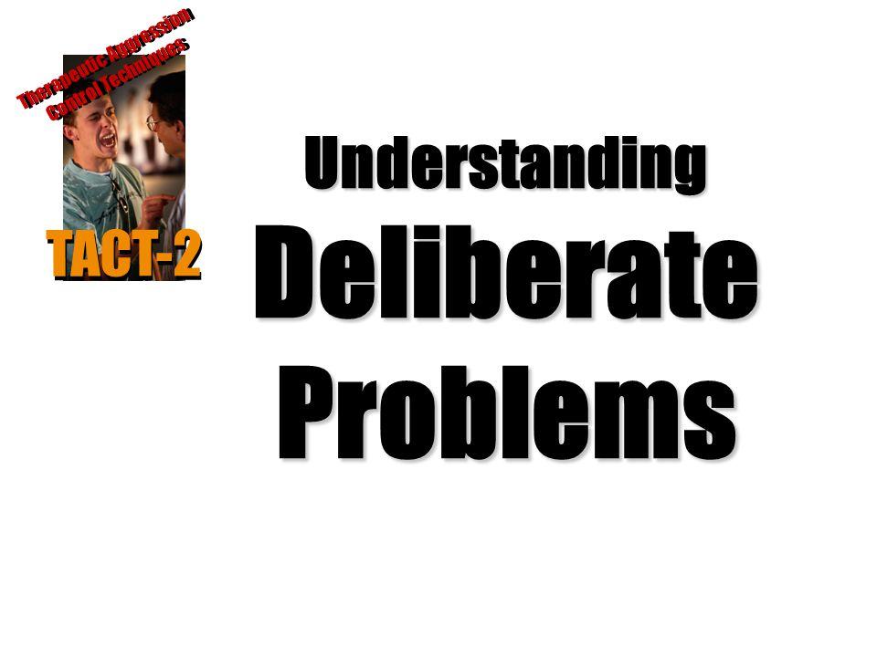 Understanding Deliberate Problems
