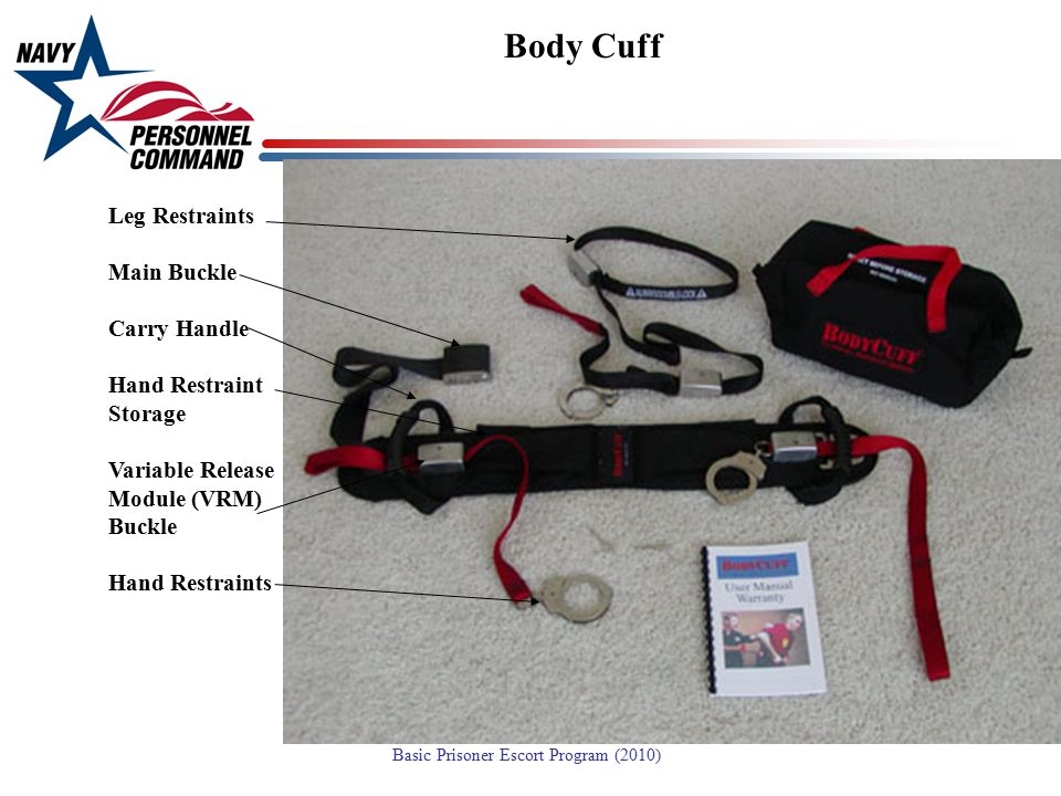 Body Cuff Leg Restraints Main Buckle Carry Handle Hand Restraint