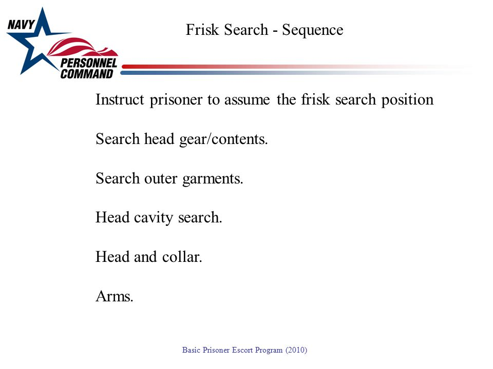 Frisk Search - Sequence