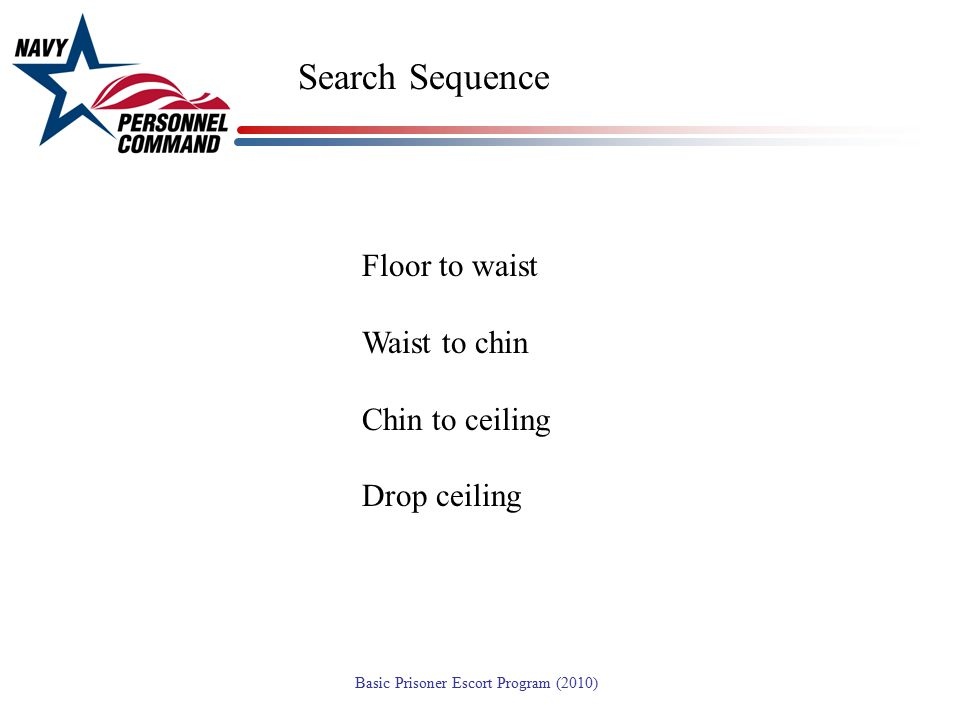 Search Sequence Floor to waist Waist to chin Chin to ceiling