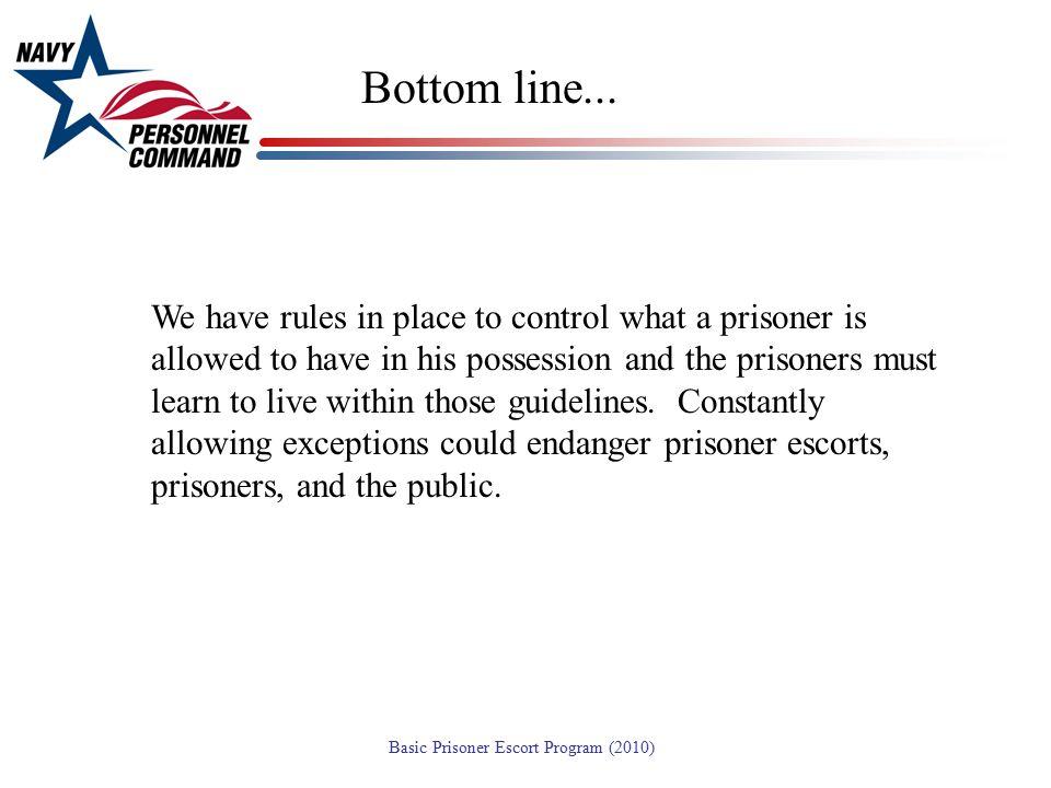 Bottom line...