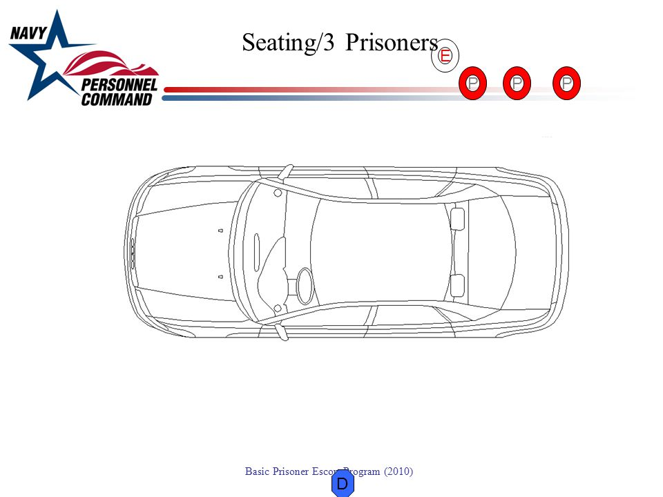 Seating/3 Prisoners E P P P D