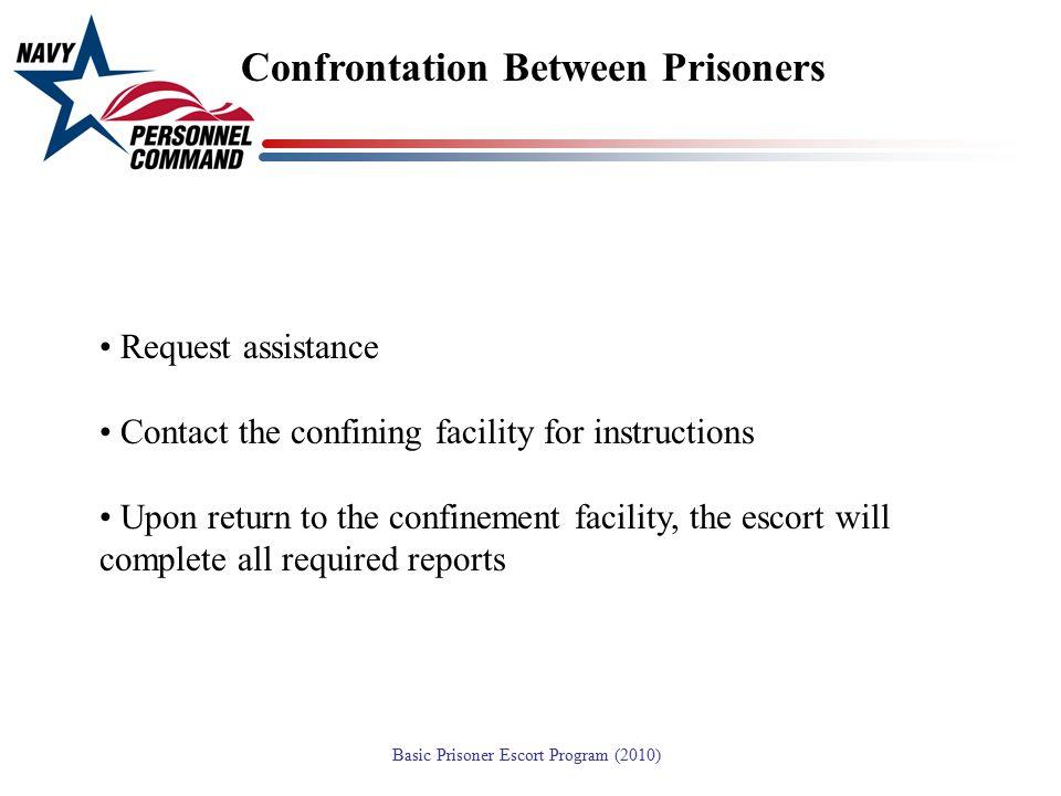 Confrontation Between Prisoners