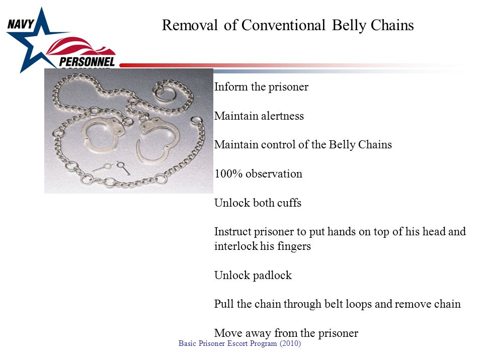 Removal of Conventional Belly Chains