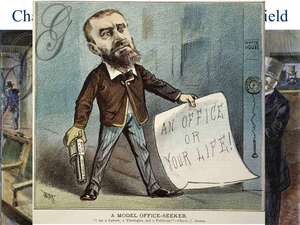 Charles Guiteau assassination of Garfield