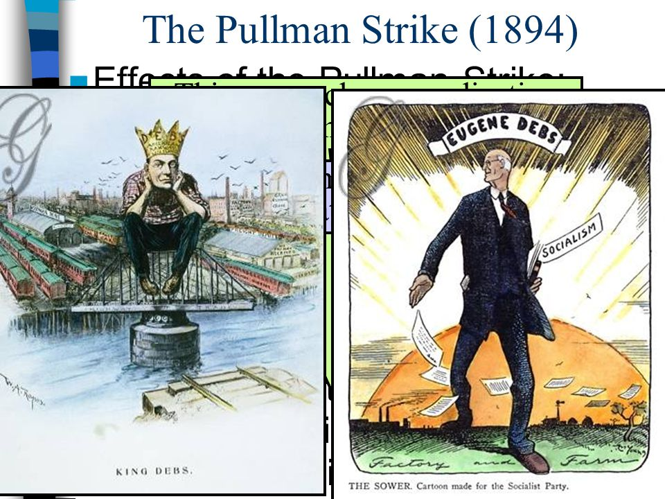 The Pullman Strike (1894) Effects of the Pullman Strike: