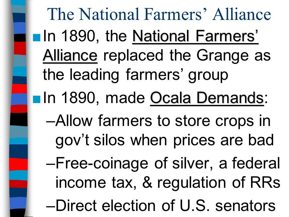 The National Farmers' Alliance