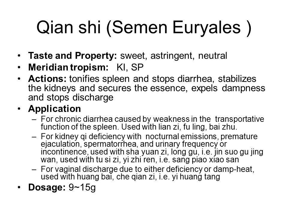 Qian shi (Semen Euryales )