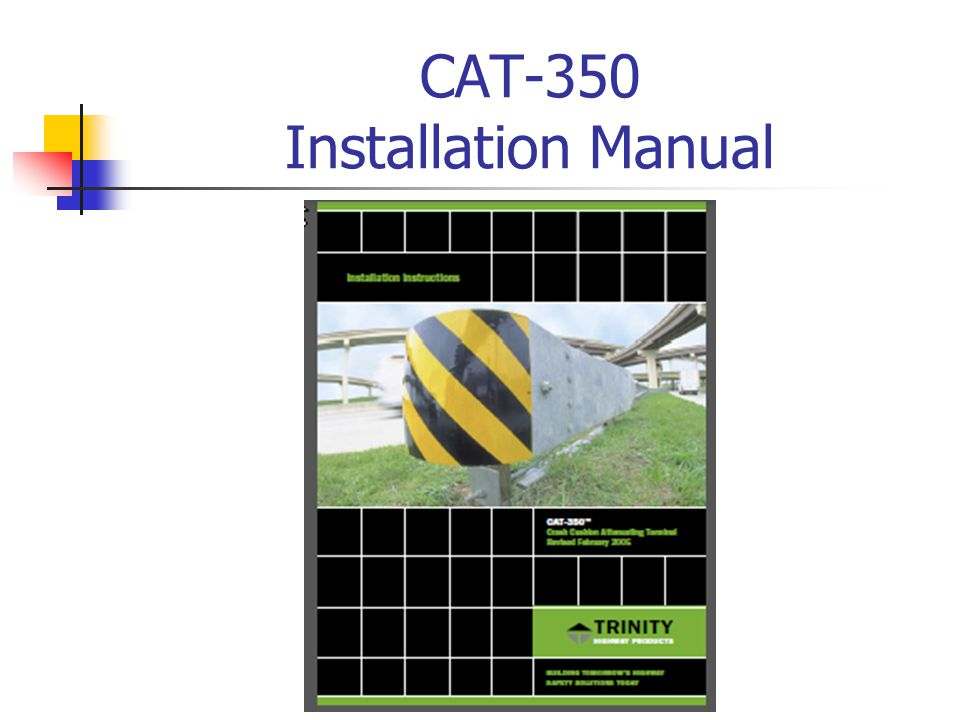 CAT-350 Installation Manual