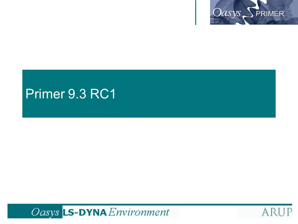 Primer 9.3 RC1