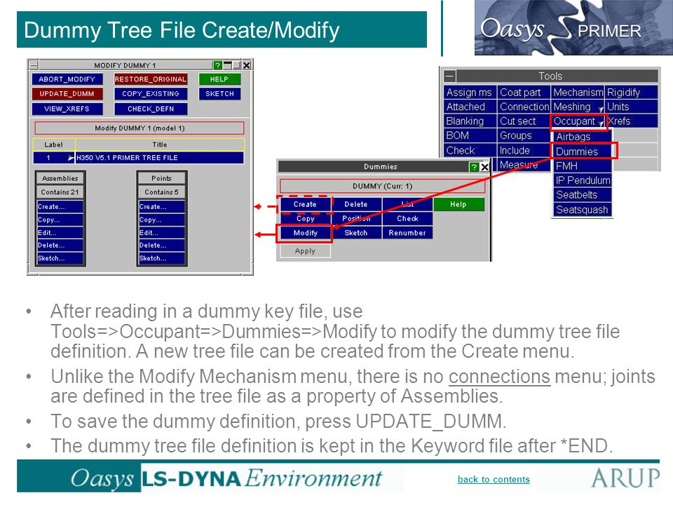 Dummy Tree File Create/Modify