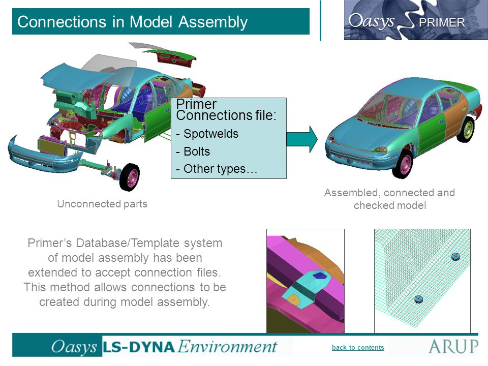 Connections in Model Assembly