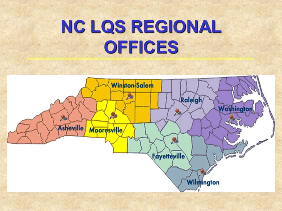NC LQS REGIONAL OFFICES