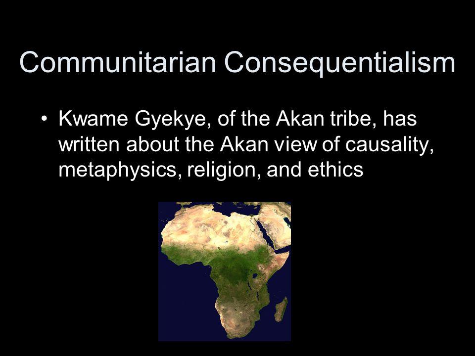 Communitarian Consequentialism