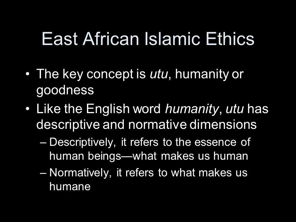 East African Islamic Ethics