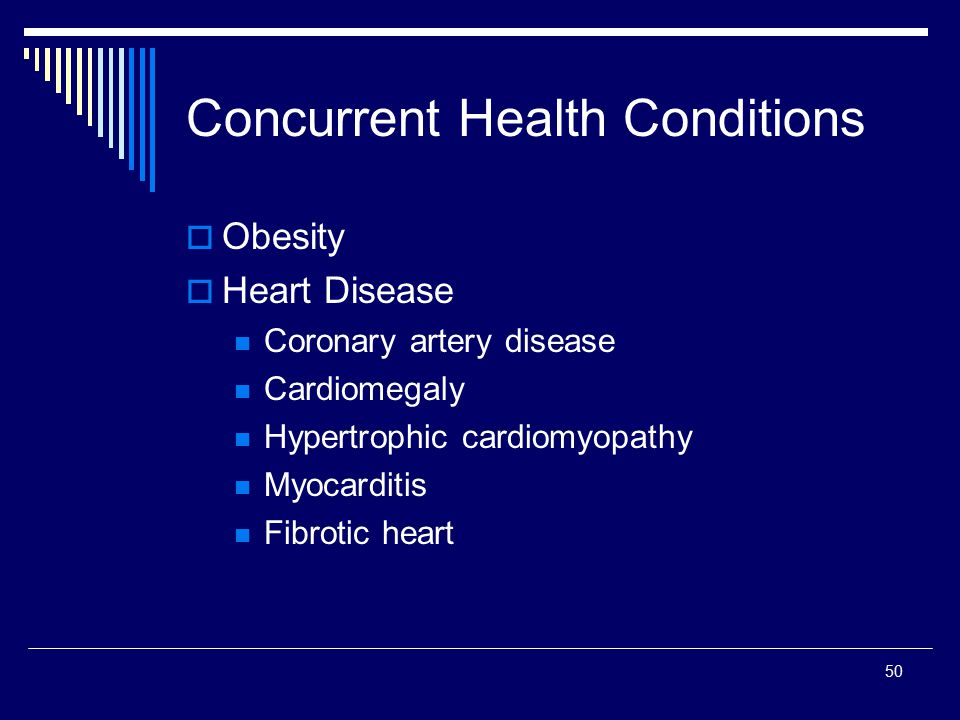 Concurrent Health Conditions