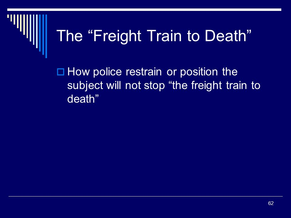 The Freight Train to Death