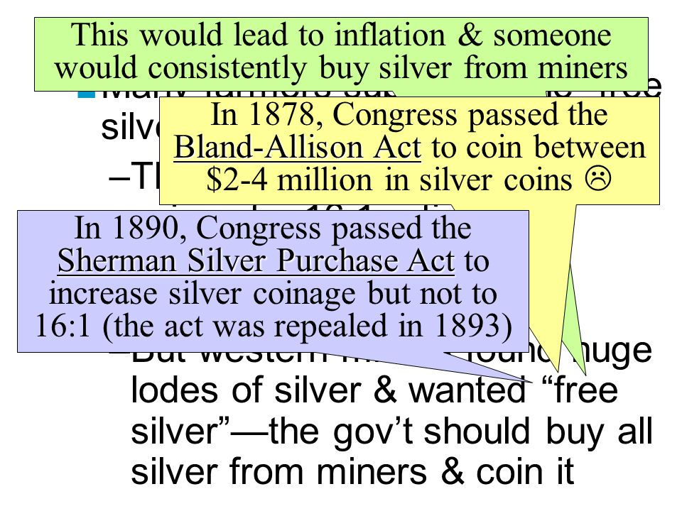 Greenback & Silver Movements