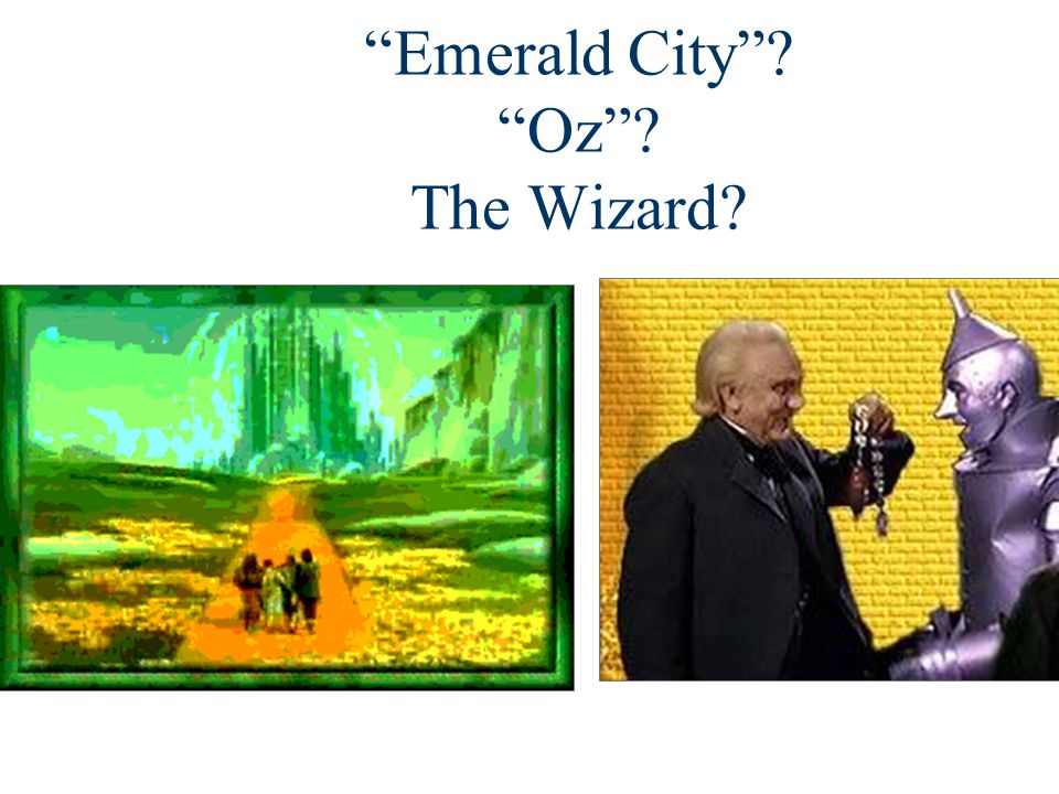 Emerald City Oz The Wizard