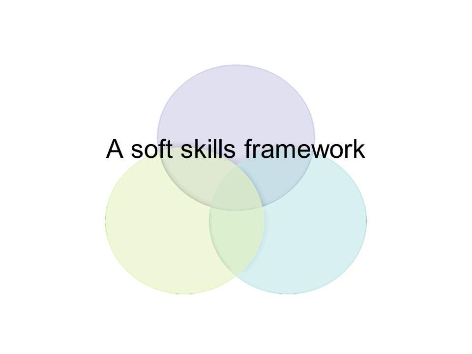 A soft skills framework