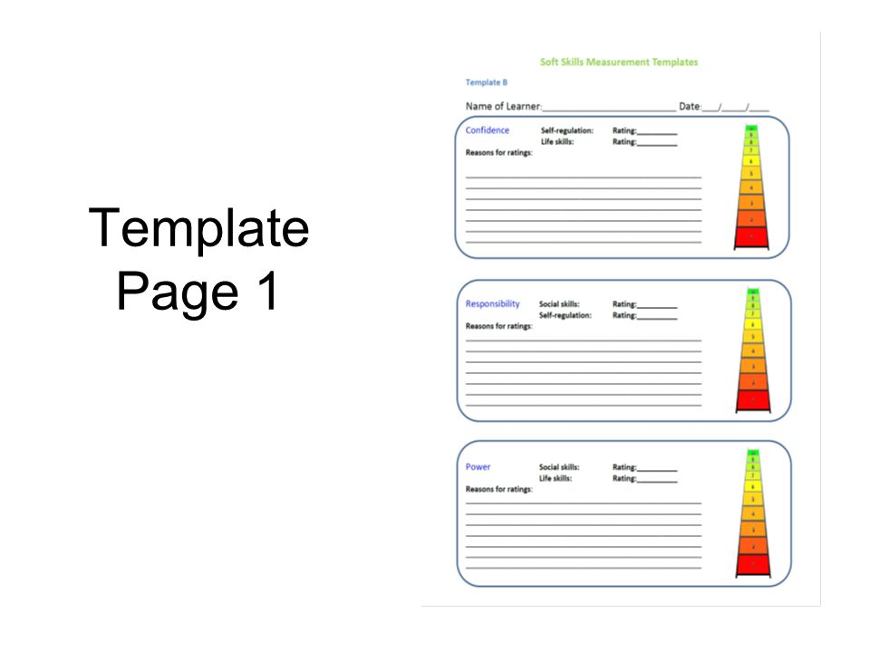 Template Page 1