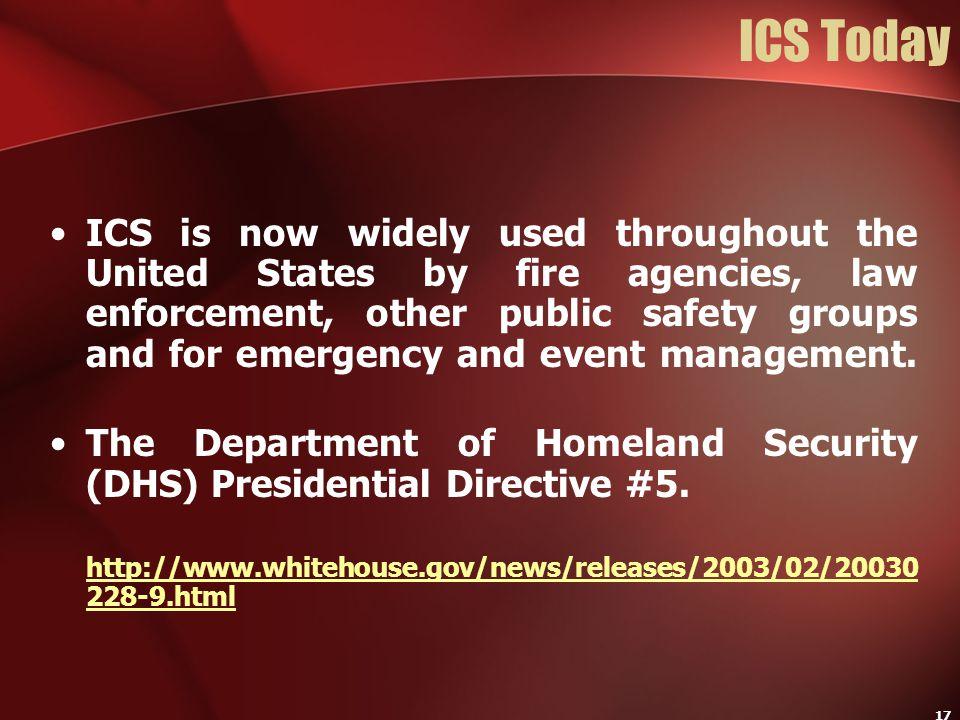 ICS Today