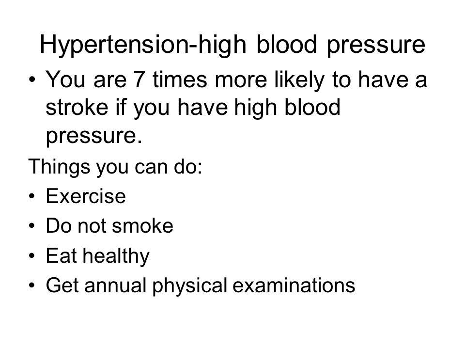 Hypertension-high blood pressure