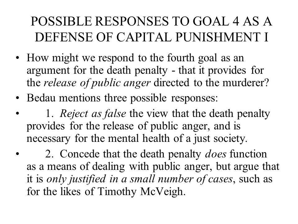 Death penalty is it really necessary