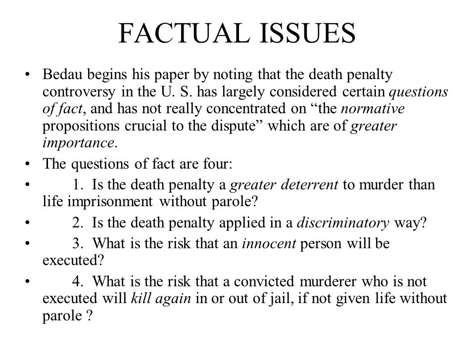 the death penalty deterrence and morality philosophy essay Concrete evidence to use deterrence as an argument for the death  the morality of the death penalty has been hotly  death penalty persuasive essay.