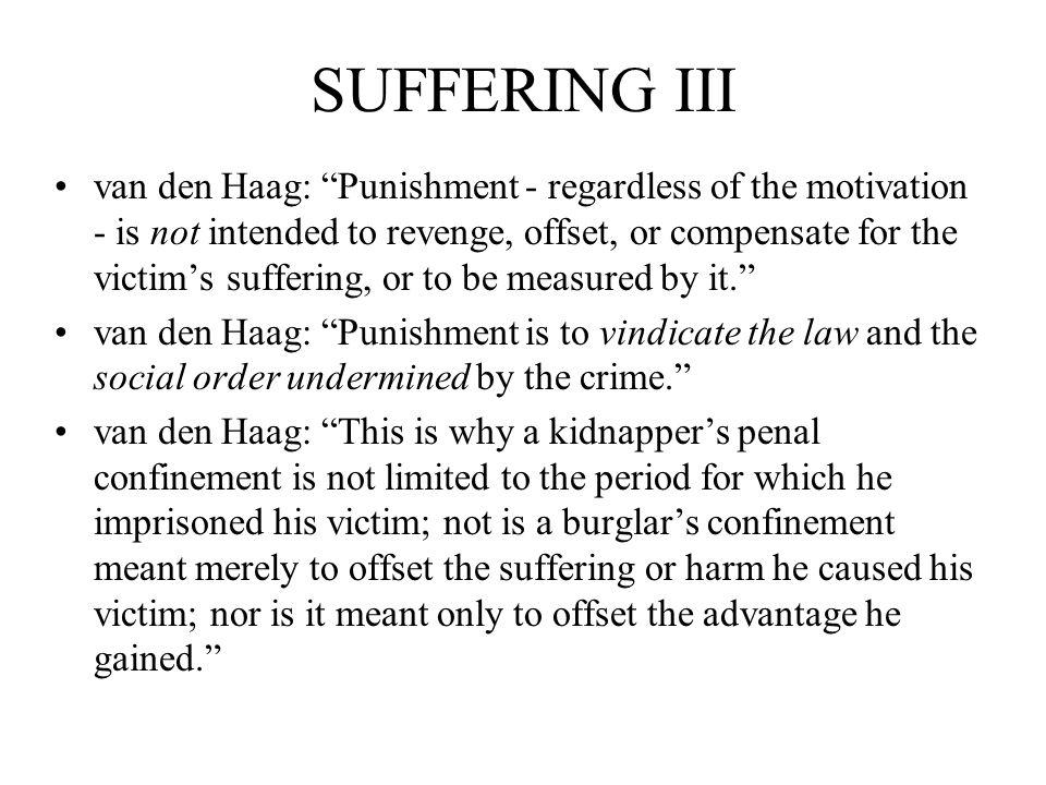SUFFERING III