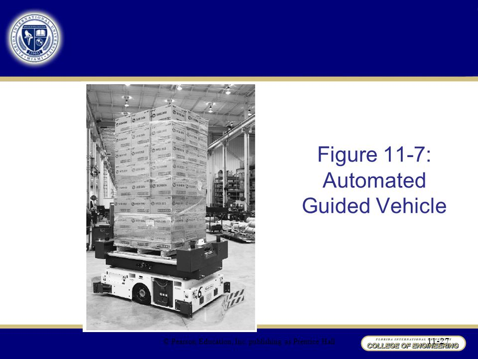 Figure 11-7: Automated Guided Vehicle
