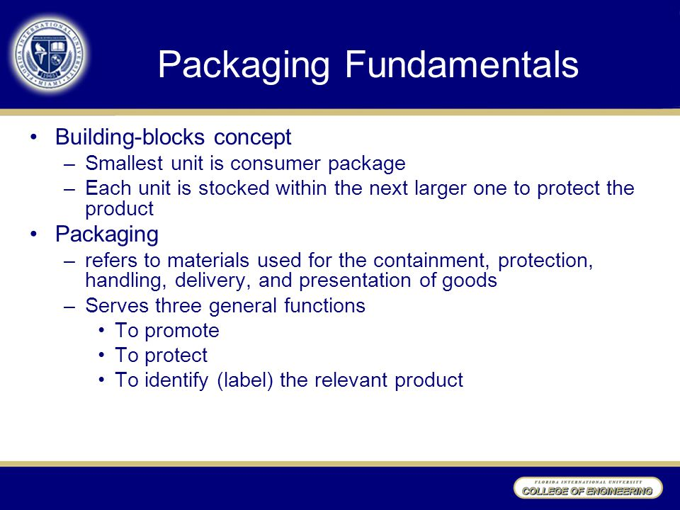Packaging Fundamentals
