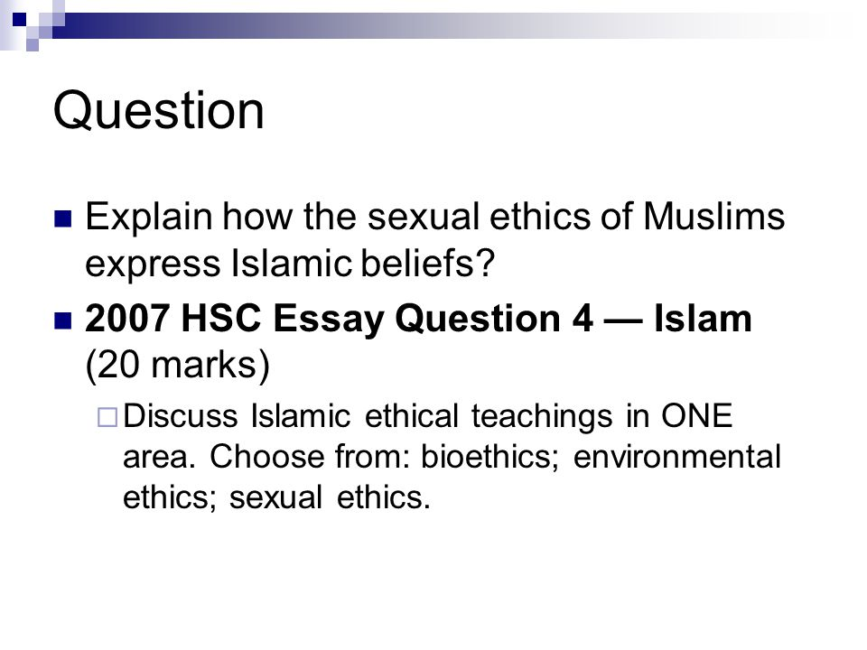 Islamic dress code essay