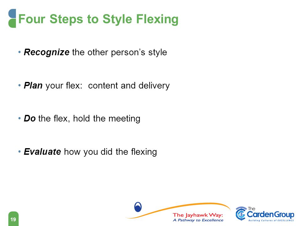 Four Steps to Style Flexing