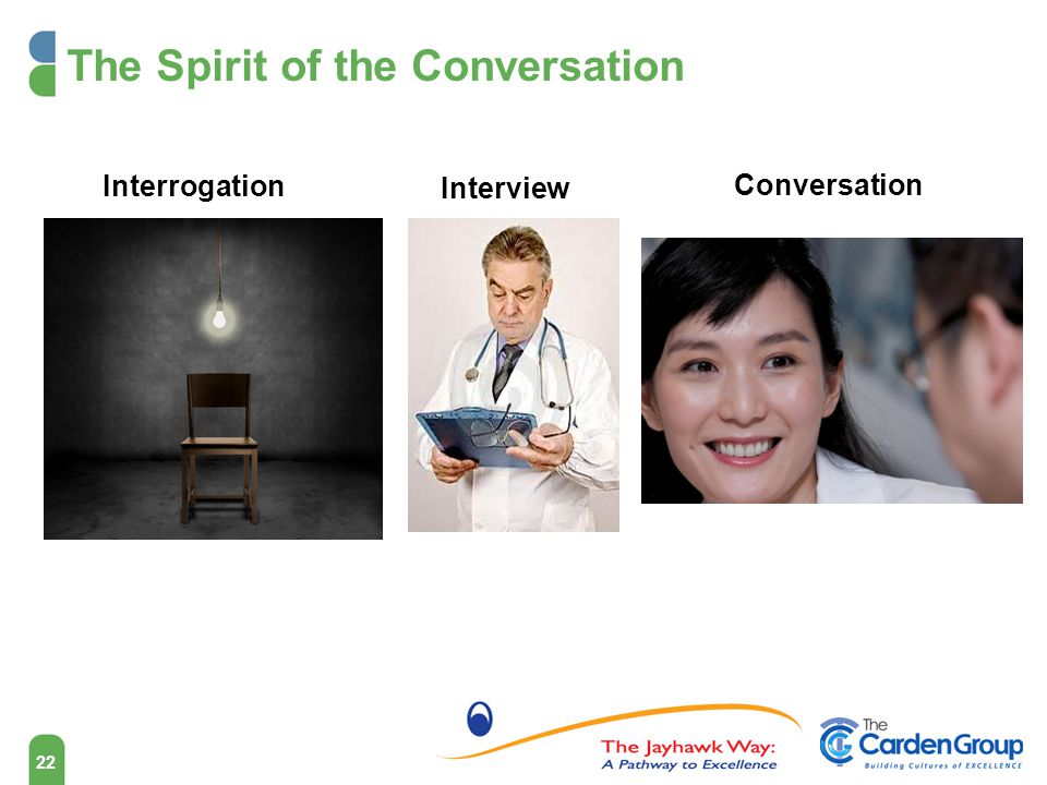 The Spirit of the Conversation
