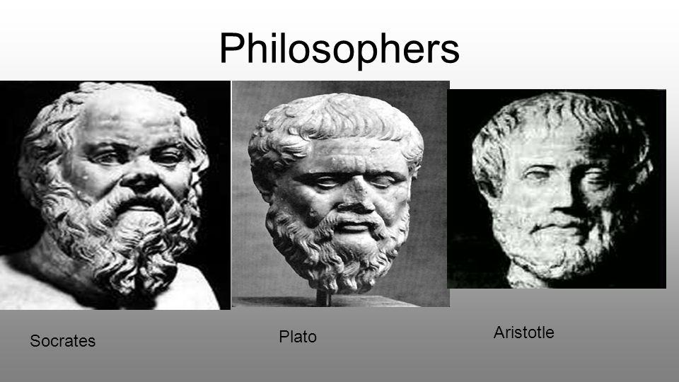 Philosophers Aristotle Socrates Plato