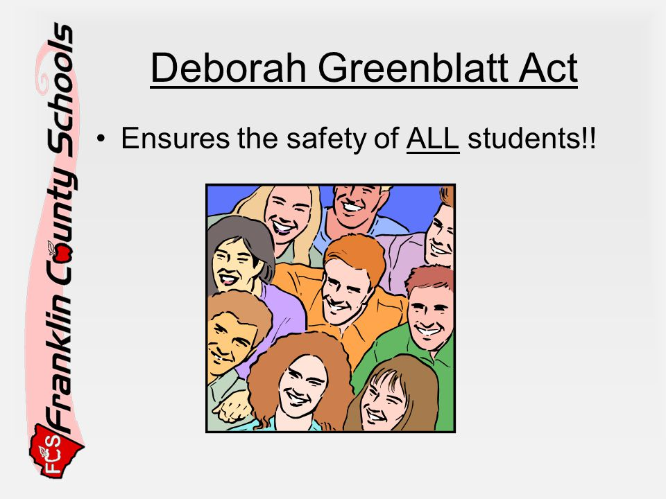 Deborah Greenblatt Act
