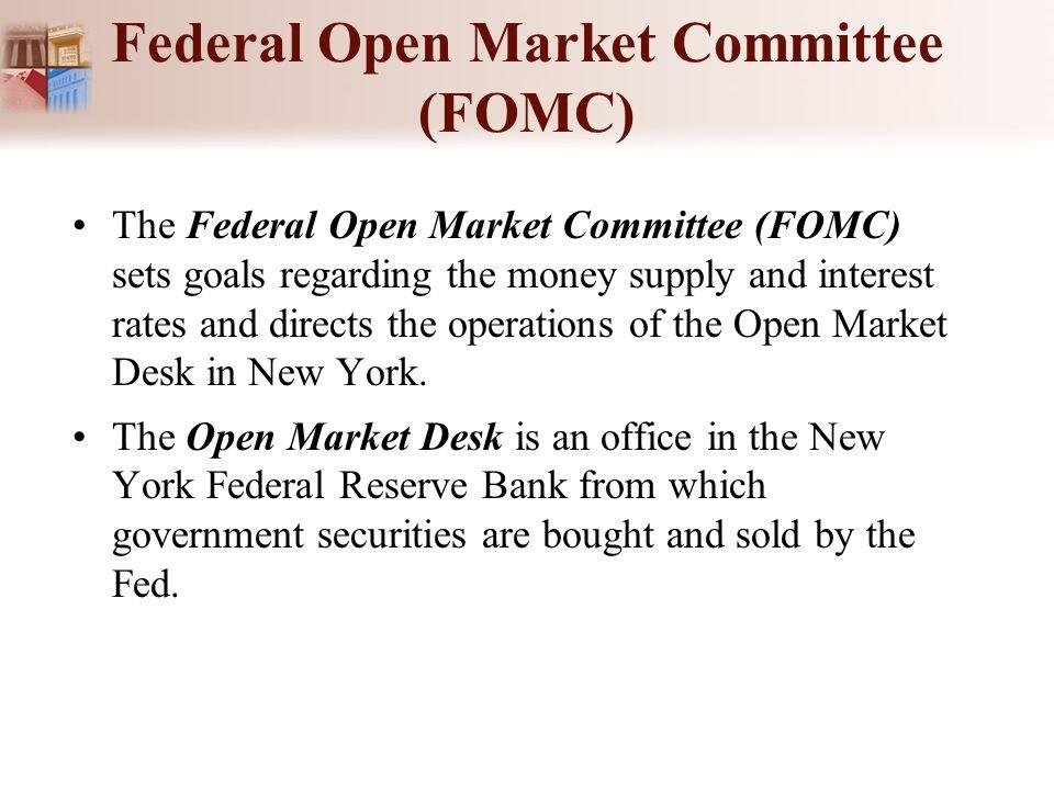 Federal Open Market Committee (FOMC)