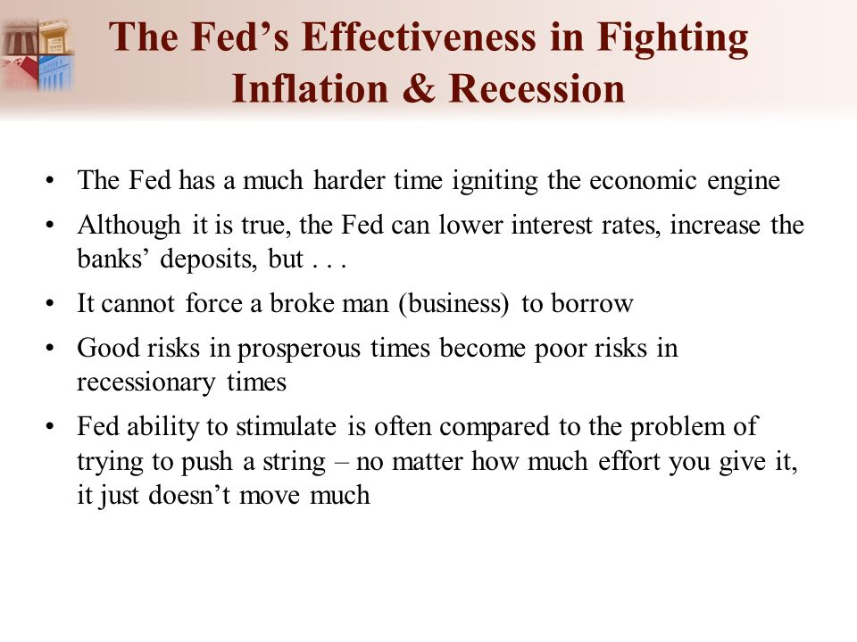 The Fed's Effectiveness in Fighting Inflation & Recession