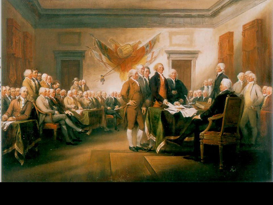 Declaration of Independence, by John Trumbull, commissioned 1817; purchased 1819; placed 1826 in the Rotunda in United States Capitol, Washington, D.C., United States