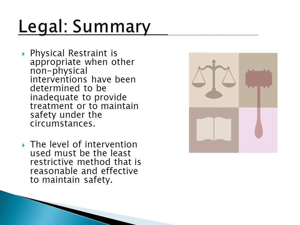 Legal: Summary