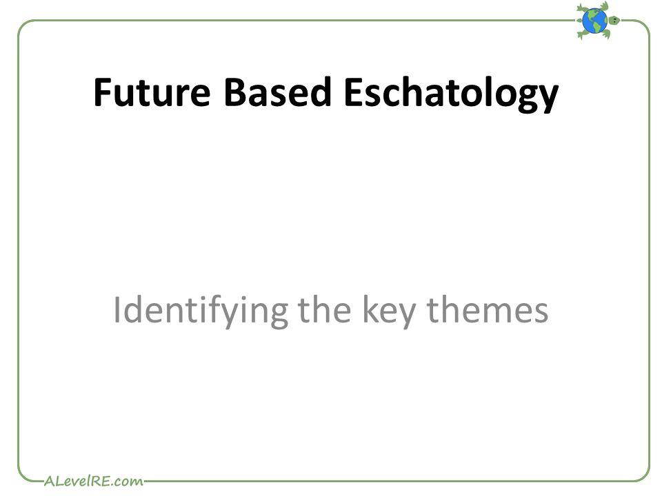 Future Based Eschatology