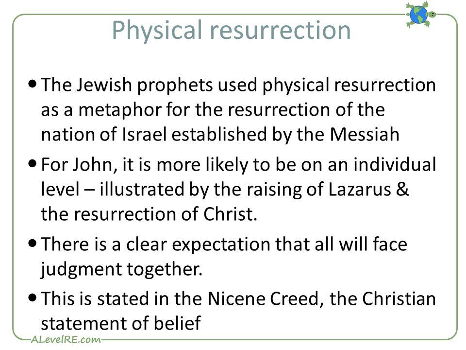 Physical resurrection